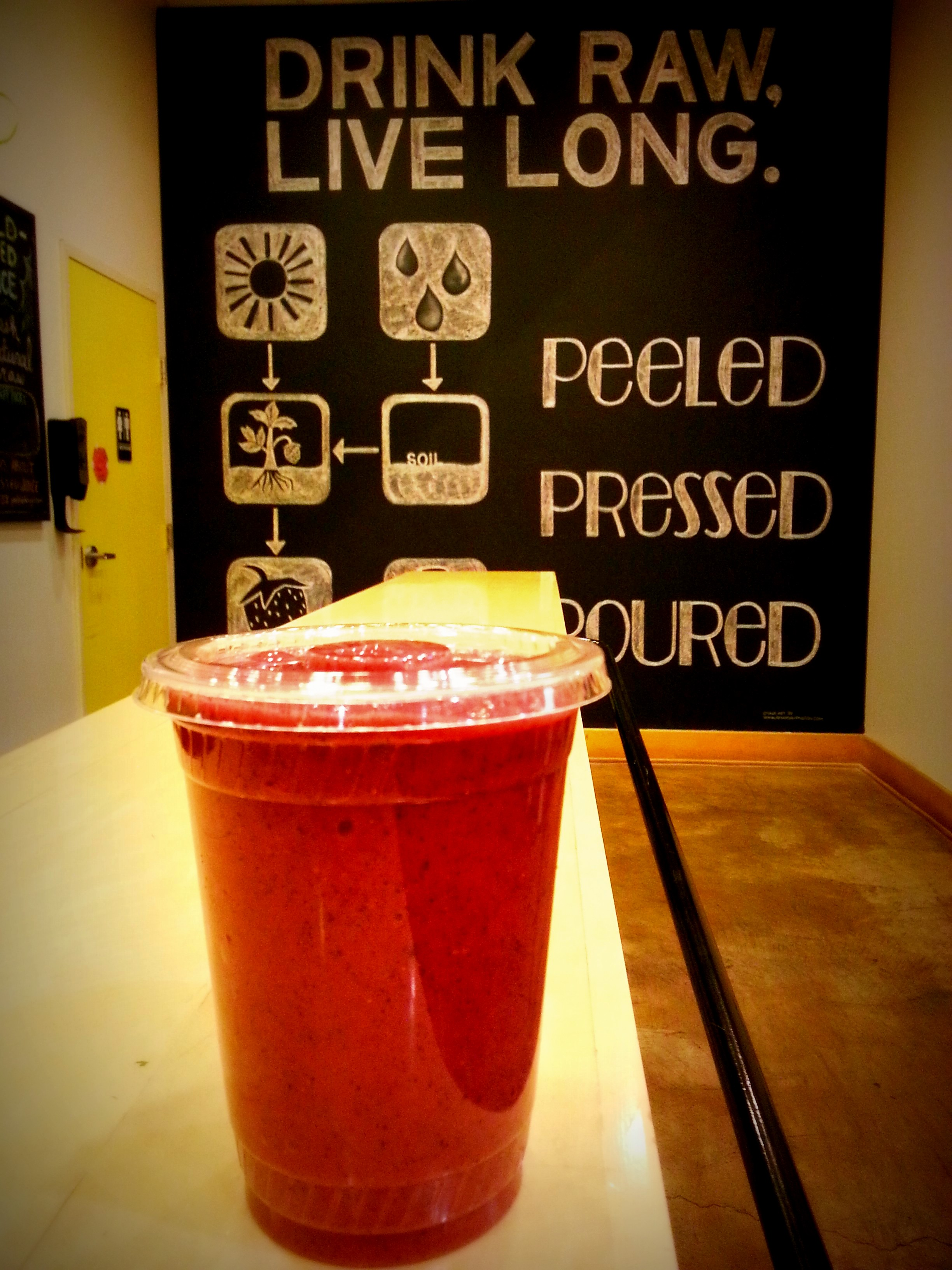 "Neon Pink Smoothie ""Juice"" Recipes — Dishmaps"