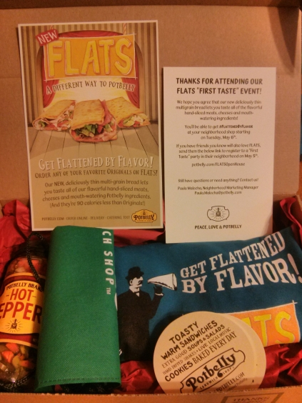 Our VIP Goody Bag from Potbelly