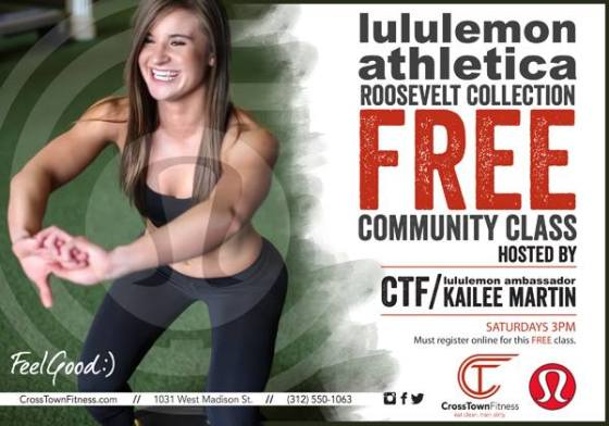 Photo courtesy of Cross Town Fitness
